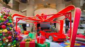 2014 Corvette, Christmas Trees and Presents