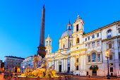 Piazza Navona. Rome, Italy