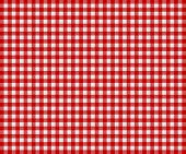 pic of mustering  - Traditional Tablecloth background with colors red and light gray - JPG