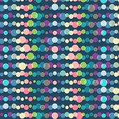 Abstract colorful dots background