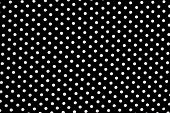 Black And White Dots Background