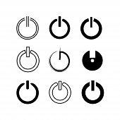reset, restart buttons