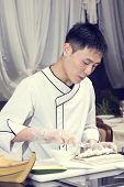 Japanese chef