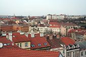Roofs Of The City Of Prague