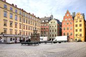 Stockholm. Historical Center Of City