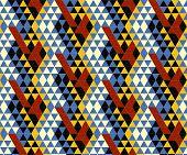 Seamless Tiles Pattern Background