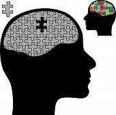 Rompecabezas cerebral