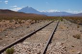 Railway Across the Altiplano