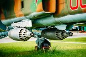 Постер, плакат: Russian Soviet Mikoyan MiG 27 is a variable geometry ground atta