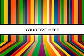 Vector colorful stripes background