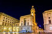 picture of turin  - San Carlo church in Turin  - JPG