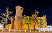 picture of turin  - The Palazzo Madama in Turin  - JPG
