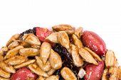 image of baked raisin cookies  - Cookie with sunflower seeds - JPG