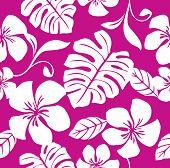Nahtlose tropischen rosa Bikini-Muster