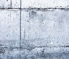 foto of mortar-joint  - Concrete surface with blocks joint lines and rich texture - JPG