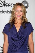 LOS ANGELES, CA - 1 AUG: Andrea Anders in de Disney / ABC zomer Press Tour op 1 augustus 2010 in
