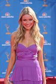 LOS ANGELES - AUG 29:  Katrina Bowden arrives at the 2010 Emmy Awards at Nokia Theater at LA Live o
