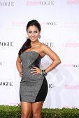 LOS ANGELES - 1 de OCT: Francia Raisa llega a los 8 Teen Vogue Young Hollywood Party - rojo Carpe