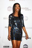 LOS ANGELES - NOV 1:  Brandy Norwood arrives at the Dancing With The Stars 200th Show Party at Boulevard3 on November 1, 2010 in Los Angeles, CA