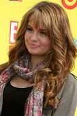 LOS ANGELES - NOV 7:  Debby Ryan arrives at the PS Arts Express Yourself Event at Barker Hanger on N