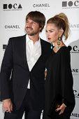 LOS ANGELES - NOV 13:  Rodger Berman, Rachel Zoe arrive at the MOCA's Annual Gala