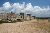 Methoni Castle Long View