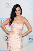 LOS ANGELES - NOV 21: Katy Perry kommt bei den 2010 American Music Awards im Nokia Theater Nove