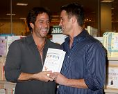 LOS ANGELES - NOV 19: Shawn Christian, Jay Johnson at the Book Launch for