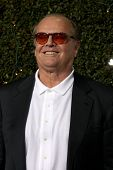 LOS ANGELES - DEC 13:  Jack Nicholson at Heather Tom's Annual Christmas Party 2010 at Village Theate
