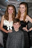 LOS ANGELES - DEC 14:  Rylie Beaty, Madisen Breaty, Declan Beaty attend the