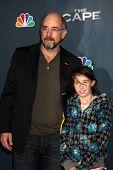 Los Angeles jan 4: Richard Schiff kommt auf