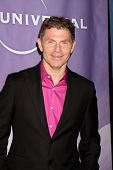 PASADENA, CA - JAN 13:  Bobby Flay arrives at the NBC TCA Winter 2011 Party at Langham Huntington Ho