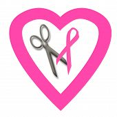 Pink Ribbon Volunteer