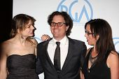 BEVERLY HILLS - JAN 22:  Davis Guggenheim (Center) arrives at the 22nd Annual Producers Guild Awards at Beverly Hilton Hotel on January 22, 2011 in Beverly Hills, CA