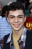 LOS ANGELES:  JAN 23 - Adam Irigoyen at the premiere of 'Gnomeo & Juliet' held at the El Capitan The