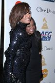 LOS ANGELES - FEB 12:  Whitney Houston; Bobbi Kristina Brown arrives at the 2011 Pre-GRAMMY Gala And