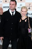 SANTA MONICA, CA - FEB 26:  Liev Schreiber and Naomi Watts arrive at the 2011 Film Independent Spiri