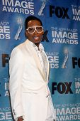 LOS ANGELES -  4: Deitrick Haddon in the Press Room of the 42nd NAACP Image Awards at Shrine Auditor