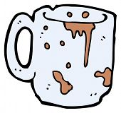 (raster version) cartoon filthy mug