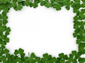 stock photo of saint patricks day  - 3D llustration with a St - JPG