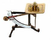 Equilibrio de carta con las medidas