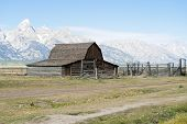Moulton Barn And Grand Tetons