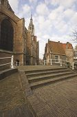 City Centre Of The Medieval Dutch Town poster