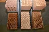 Porous Ceramic Blocks, Brick Blocks, Or Ceramic Blocks For Sale With Different Structure And Insulat poster