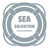 Sea Salvation Logo. Simple Illustration Of Sea Salvation Logo For Web poster