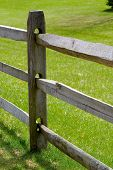 Rail Fence Detail