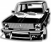 vector customized car
