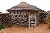 African Adobe Hut