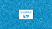 Creative Vector Illustration Of Topographic Map. Art Design Contour Background. Abstract Concept Gra poster