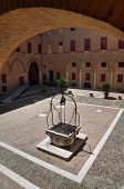 image of ferrara  - Perspective of the Estense Castle of Ferrara - JPG